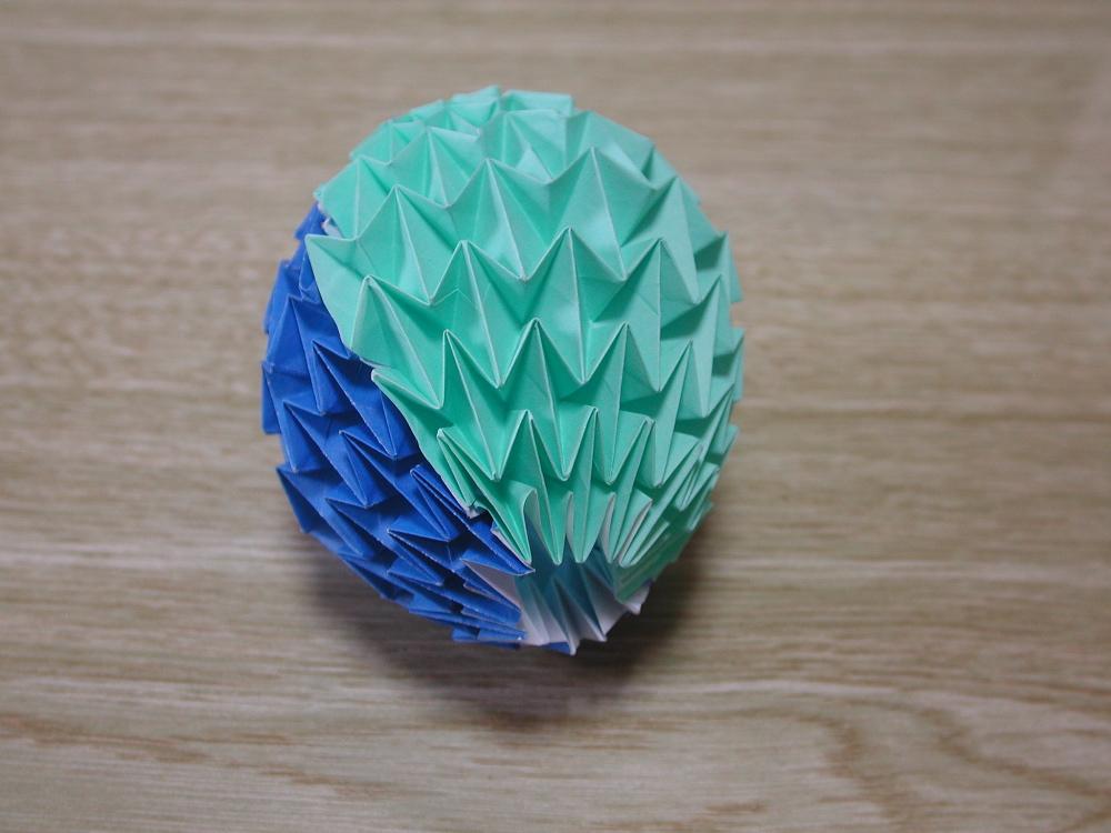 すべての折り紙 マジックボール 折り紙 : マジックボール